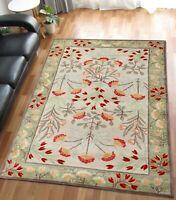 UK Rugs OLIVIA Design Handmade Tufted Antique Style Woolen Area Rugs & Carpet