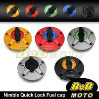 CNC FCR Keyless Fuel Tank Gas Cap For Ducati 996 998 916 748 1098 1198 848 851
