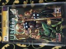 ULTIMATE THOR #1 Variant 9.8 Signature Series SS J Scott Campbell CGC Graded JSC