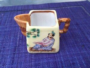 Pot Jules Vieillard à décor d'inspiration japonaise