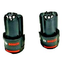 2 x Bosch 12v Batteries (2ah) - BRAND NEW ***GENUINE***