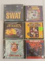 Lot Of 6 Brand New Sierra PC Games