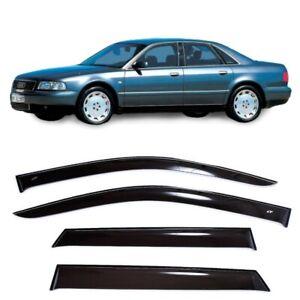 For Audi A8/S8 D2 Sd 1994-2002 Window Visors Side Sun Rain Guard Vent Deflectors