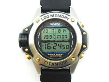 Casio DEP-700 Twin Sensor Log Memory Diver's Titanium Watch EX (g-shock 600 610