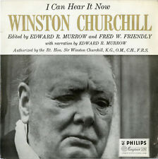 """Winston CHURCHILL"" I can hear it now (LP 33 tours original UK) MINT"