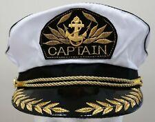 Captain Hat Skipper Cap Sailor Boat Marine Fishing