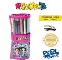 Astuccio Me Contro Te Rotolo 24 Pastelli Matite Tinta Unita PoolOver YoungPeople