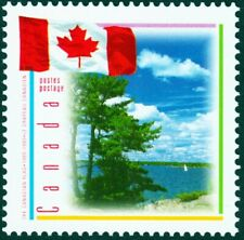 FLAG OVER LAKE = NON-denominated stamp Canada 1995 #1546i (LF) MNH