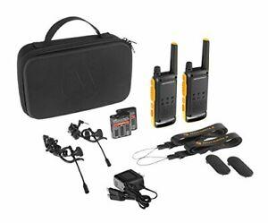 Motorola T82 Extreme Twin Pack Walkie Talkie - GorillaSpoke, Free P&P IRE & UK!