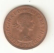 1967 Moneda De Half Penny Elizabeth Ii - 1/2d - Buena Calidad