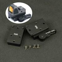 RMR Co-Witness Red Dot Sight Riser Mount QD Auto Lock for Weaver Picatinny Rail