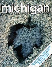 NOV/DEC 1981 MICHIGAN NATURAL RESOURCES MAG- SUGAR MAPLE LEAF & RED-TAILED HAWK