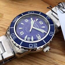 Seiko 5, SNZH53 Automatic Watch. Custom Fifty Five Fathoms Blue Dagaz Dial