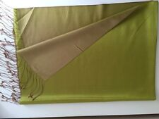 Hand Made High Quality %100 Silk Shawl Scarf Double Side Usage Gift From Turkey
