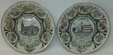Pair of Budel Netherlands Collector Plates 1994 Limoges France Limited Edition