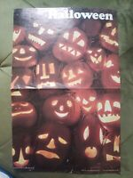 Vintage 1971 halloween Jackolantern JOl poster
