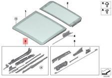 Genuine BMW E53 E61 E61N Sunroof Repair Kit For Glass Front OEM 54137118849