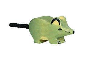 HOLZTIGER 80087: Mouse, Collectable Wooden Toy NEW