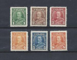 CANADA (1935 COB#179-184  Silver Jubilee of KG-V) MNH SuperB Cat.Val. € 56.00