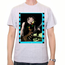 Stevie Ray Vaughan Photo T Shirt - On Stage Colour Classic Blues T Shirt Awesome