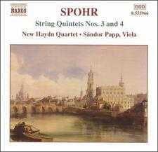 Spohr: String Quintets Nos. 3 and 4, New Music