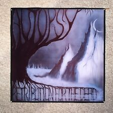 AUTOPSY Retribution For The Dead Coaster Record Cover Ceramic Tile - Resin