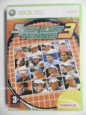 jeu SMASH COURT TENNIS 3 sur xbox 360 en francais game spiel juego gioco complet