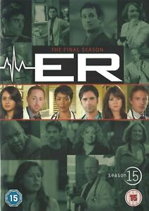 (R2) ER COMPLETE FINAL SEASON 15 COLLECTION NEW 6 DVD INCLUDES ALL 22 EPISODES