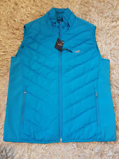New Mens Hollister Lined Puffer Vest Size L RRP £59