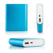 Cargador portátil azules para teléfonos móviles y PDAs, USB