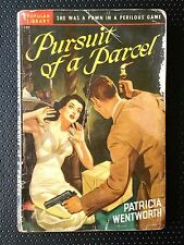 Pursuit of a Parcel Patricia Wentworth 1942 Popular Library Paperback Pulp GGA