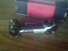"FSA OS99 CARBON   1 1/8"" AHEAD STEM 110mm, 6 DEGREE, 31.8mm BARS"