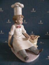 Lladro Chef'S Apprentice 6233 *Mint In Box