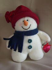 "6"" Polar Fleece Stuffed Snowman"