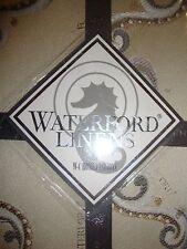 New Waterford Kerrigan Cream Taupe Euro Pillow Sham