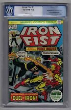 Iron Fist #1 Nov 1975 PGX (CGC) 9.0 VF/NM White Pages - Marvel Comics
