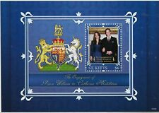 St.Kitts 2011 Prince William Royal Wedding MS MNH