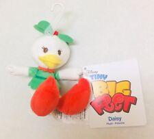 BNWT Disney Daisy Duck Christmas Holiday Tiny Big Feet Micro Plush Toy