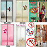 Magic Magnetic Door Net Screen Curtain Bug Mosquito Fly Insect Mesh Guard UK
