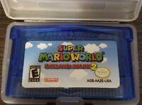 Super Mario World Gameboy Advance USA REPRODUCTION Free SHIPPING L@@K