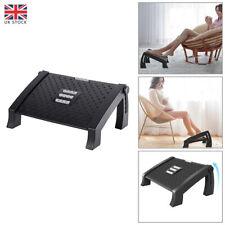 More details for office foot rest under desk height adjustable ergonomic tilted foot stool new