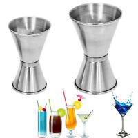 Stainless Spirit Cocktails Measure Cup Jigger Alcohol Bartending Bar&Wine Tools