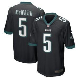 Philadelphia Eagles Donovan McNabb #5 Nike Black NFL Game Retired Player Jersey