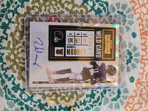 2020 Contenders Darnell Mooney auto variation gold #204