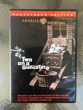 WARNER ARCHIVE DVD of William Conrad's Two On a Guillotine (1965)