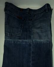 E18 Seven 7 For All Mankind Boy Cut Button Fly Jeans EUC Size 27  29W x 32.5L