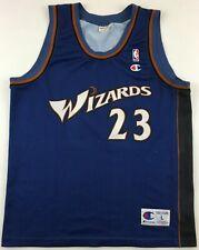 Washington Wizards NBA #23 Michael Jordan 2001-03 jersey Champion basketball L