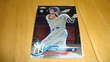 Gleyber Torres Yankees Authenticate Autograph Auto 2018 Topps Chrome Rookie crd