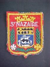 Original Vintage 1940's WW II Era St. NAZAIRE  Patch