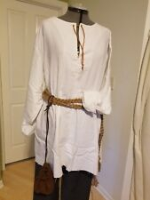 Renaissance Peasant/Worker Outfit (Med) - Brush Cotton w Brown breeches